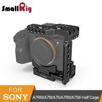 SmallRig a7ii/a7iii Arca QR Yarım Kafes Sony A7R III/A7 III/A7 II/A7R II/A7SII kamera kafesi Ile Nato Demiryolu Olabilir Ayakkabısı-2238