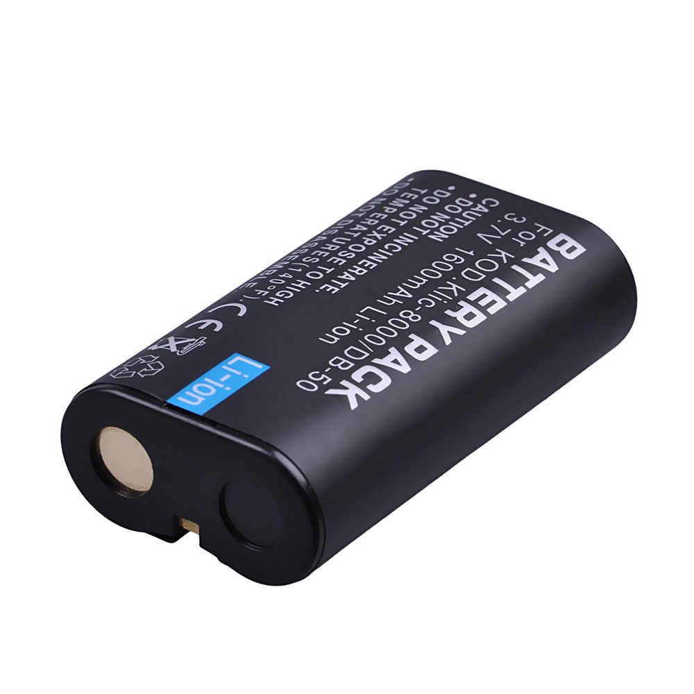 Kodak Easyshare Z712 is Battery 2000mAh, 3.7V, Lithium-Ion ...