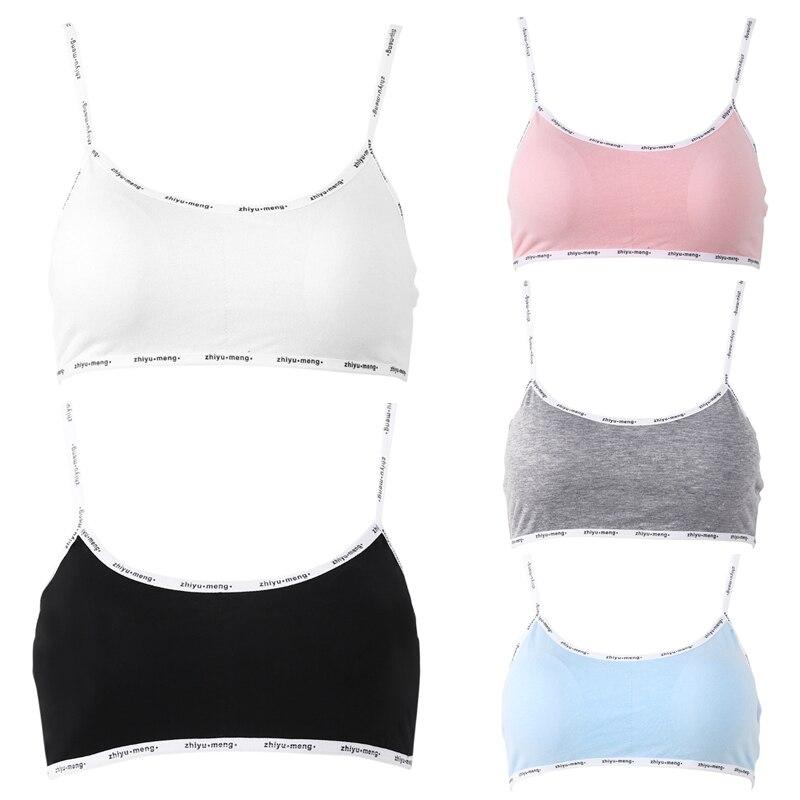 Girls Training Bra Teenage Kids Soft Breathable Cotton Underwear Tops ClothingGirls Training Bra Teenage Kids Soft Breathable Cotton Underwear Tops Clothing