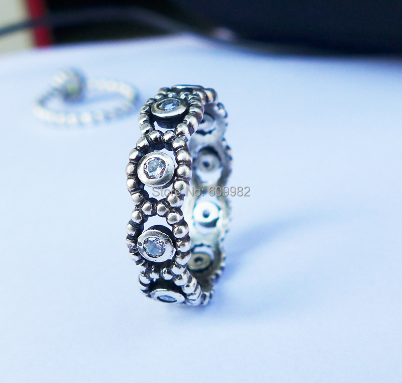 Wellmade Ladies Oxidized Solid 925 Sterling Silver Ring