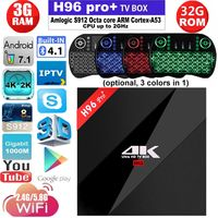 H96 PRO TV Box Amlogic S912 Octa Core Android 6 0 3G 16G 3G 32G 2