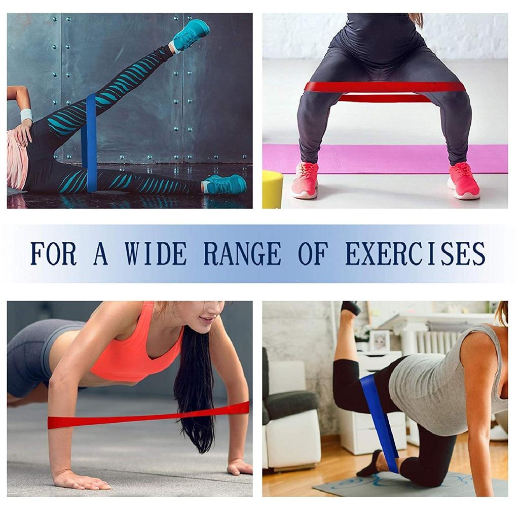 Спортивные Эспандеры WorthWhile, эластичные резинки для занятий йогой, подтягиванием, кроссфитсом, оборудование для тренировок-2
