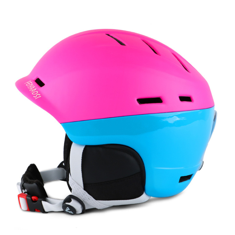 New Brand Integrally molded Contrast Color Ski Helmet for Adults Men Women Winter Sports Skiing Snowboard