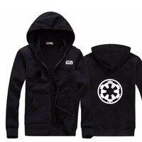 Men Hoodies Star Wars Long Sleeve Fashion Hoodie Men Jacket Coat Brand Sweatshirt Casual Zipper Hoody