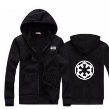 Фотография Men Hoodies Star Wars Long Sleeve Fashion Hoodie Men Jacket Coat Brand Sweatshirt Casual zipper Hoody Hombre Masculino