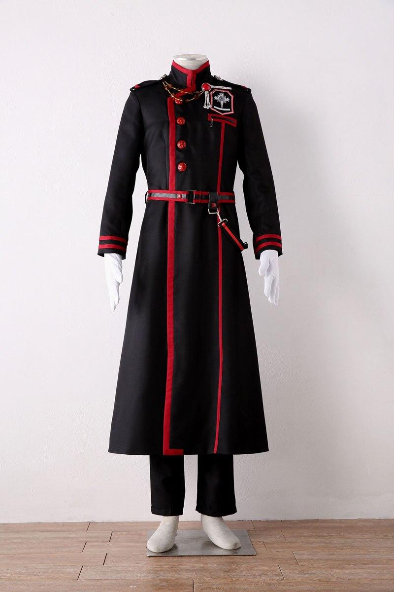 Popular D.Gray-man DGM Yu Kanda Uniform Cosplay Costume Man's Costume Full Suit
