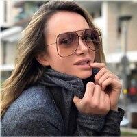 FEISHINI Мода щит полые металлические солнцезащитные очки Для мужчин Брендовое, дизайнерское зеркало розовый женские очки от солнца модные очк...