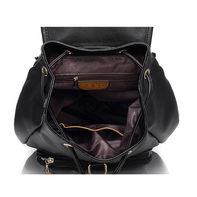 REALER Brand Women Backpack Preppy Style School Bags For Women Retro and Vintage Backpack Students School Bag Female Backpack