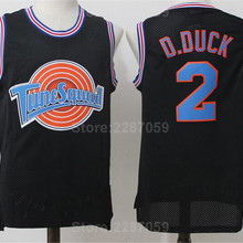 a0309866c72 TAZ Tune Squad Jersey Men Black Color White Looney Tunes TAZ Basketball