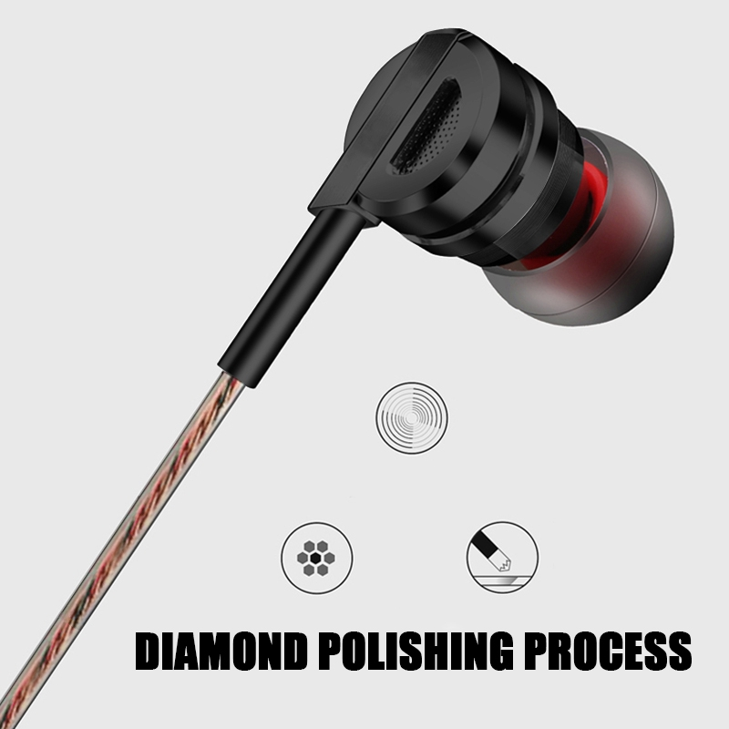 Artisome Super Bass Wired Earphone For Phone Stereo Mic Metal Earphone For iPhone Samsung Xiaomi Headphones Accessories (6)