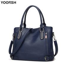 купить 2019 New Fashion Women Bag PU Leather Handbags Casual Shoulder Bag Waterproof Crossbody Bags for Women Messenger Bags ZX-017. по цене 1590.5 рублей