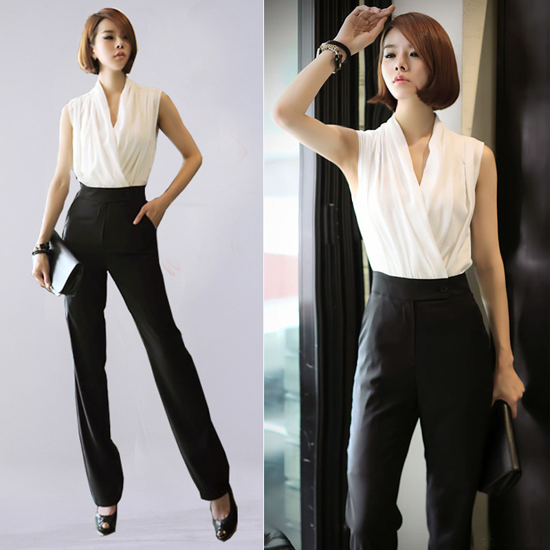 Online Buy Wholesale white pants romper from China white pants ...