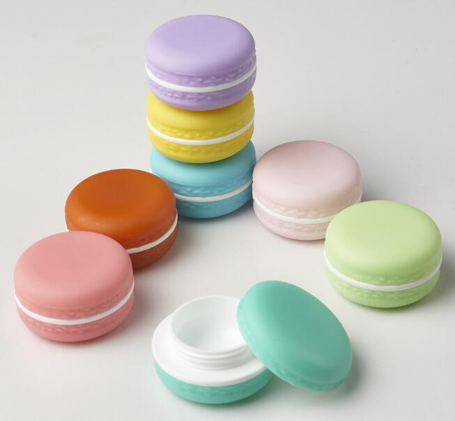 1pcs Candy Color Jar Cute Empty Cosmetic Containers Lipstick lip Balm Box DIY Sub-Bottling Cream Jar