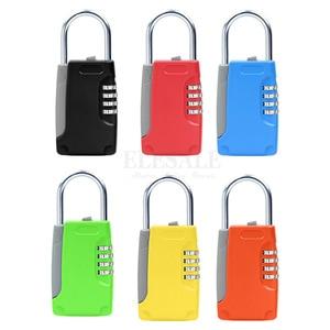 Image 4 - New Mini Key Safe Box Hidden Organizer 4 Digital Password Lock House Villa Car Caravan Spare Keys Storage Box Drop Shipping