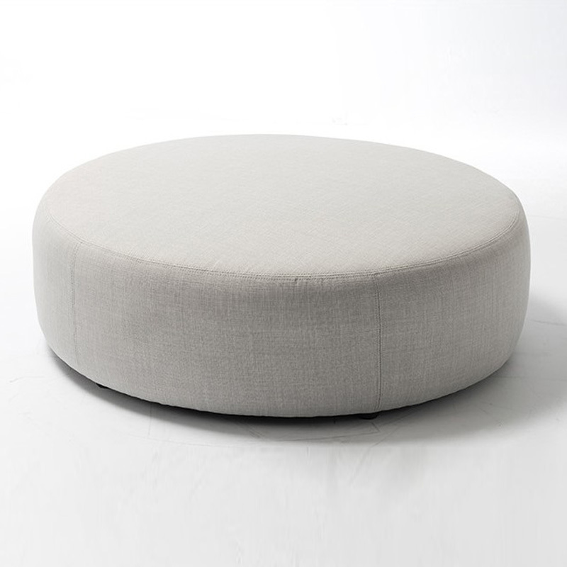 Round Stool Cushions With Elastic Moss Microfiber 4piece