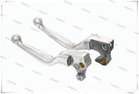 Silver Master Cylinder Brake Clutch Levers For Harley Sporster XL1200C XL 1200C 2004-2012 XL1200R 2004-2008 05 06 07