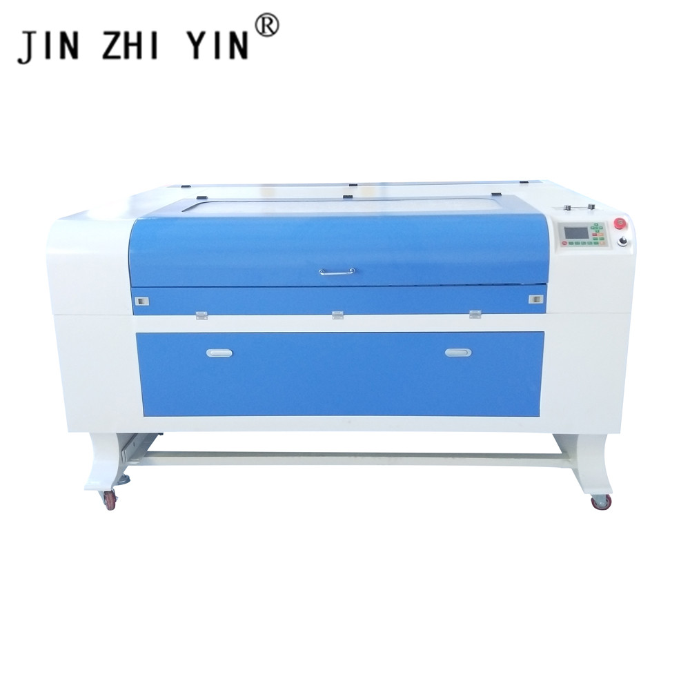 JIN ZHI YIN 1390 150W CO2 Laser Engraver Cutter Ruida Controller Engraving Cutting Plywood Wood