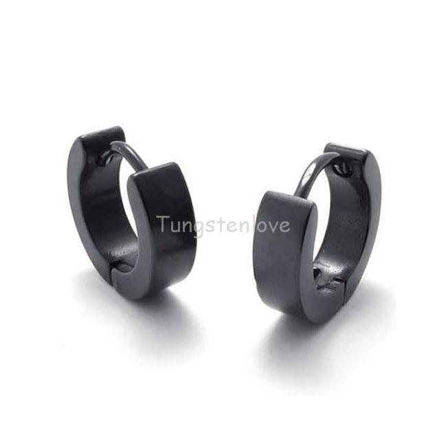 Boys Earring The Smart Black Magnetic Round Earring For ...