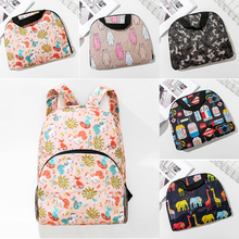 Unisex Lightweight Foldable Backpack Outdoor Sport Travel Pack Polyester Waterproof Folding Portable Tote Bag