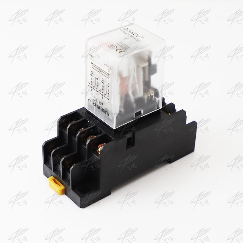 OMRON MY4-02 24V DC New and unused 4PDT relay.