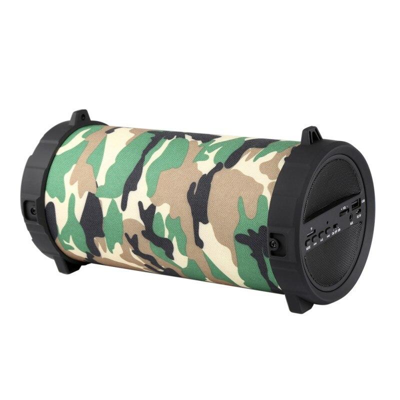 Haut-parleur Bluetooth sans fil Portable Super basse caisson de basses Sport extérieur boîte de son FM haut-parleurs stéréo pour la fête de voyage chaud