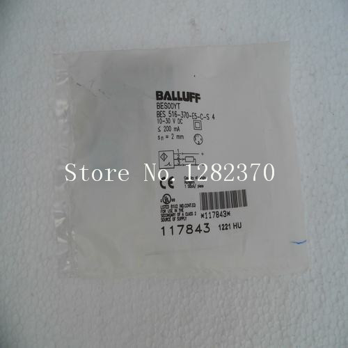 [SA] New original special sales BALLUFF sensor BES 516-370-E5-C-S4 spot 4pcs new for ball uff bes m18mg noc80b s04g