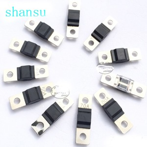 1PCS ANS trumpet Fork plug fuse 30A 40A 50A 60A 70A 80A 100A 125A 150A 200A Bolt fixed insurance film(China)