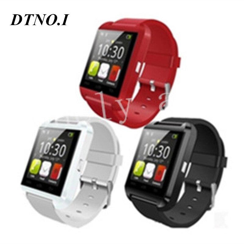 10pcs DZ09 GT08 U8 smart watch Phone Mate Bluetooth watch with Pedometer camera MTK6260 amazfit with retail box u80 smart watch with pedometer function