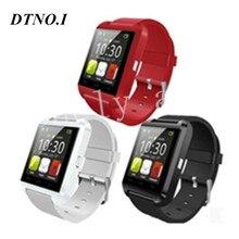 10 pcs dz09 gt08 u8 smart watch téléphone compagnon bluetooth montre avec podomètre caméra mtk6260 amazfit avec la boîte de détail