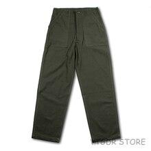Tropical-Trouser Og-107-Pants Combat Vintage Men's War Vietnam Jungle Repro Us-Army Plus-Size