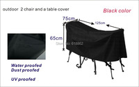 Free Shipping 2 1 Garden Chair And Table Cover Garden Furniture Cover Water Proofed Cover For
