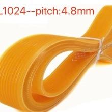 1PCS 6PL1024 Pitch:4.8mm PU Ribbed Belt Multi