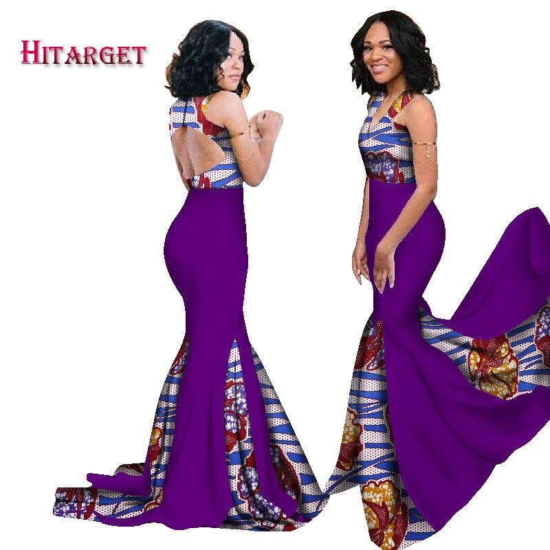 Atractivo Vestidos De Dama De Impresión Africano Viñeta - Vestido de ...