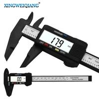 탄소 섬유 복합 6 인치 0 150mm 버니어 디지털 전자 캘리퍼스 눈금자|electronic caliper ruler|digital electronic caliper rulercaliper ruler -