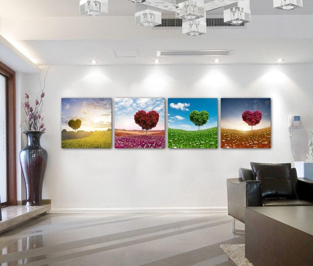 pinturas para la venta unidades corazn pinturas en la pared impresiones de la lona