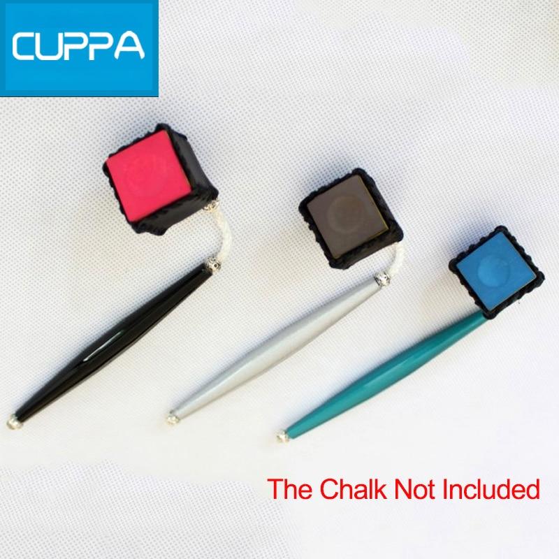 2pcs//Set Snooker Stick Tip Chalk Case Pool Cue Chalk Holder for Billiard