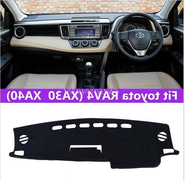 Dashmats car styling accesorios tablero de instrumentos cubierta para toyota rav4 Vanguard ve xa30 xa40 2005 2006 2007 2013 2012 2015 2016 RHD