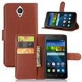 Original pu leather wallet case para huawei y635 5 pulgadas teléfono bolso de La Cubierta con la Función Del Soporte para Películas y Ranura Para Tarjetas de Crédito