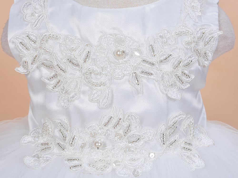 2016 Hot Sale Top Fashion 3 Pcs set Baby Girl Dress Christening ... 05a818f2e2da