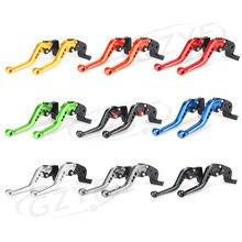 For Suzuki GSXR 600 750 K4 Short Brake Clutch Levers 2004-2005 GSXR600 GSXR750 Aluminum Adjustable Motorbike Parts Accessories