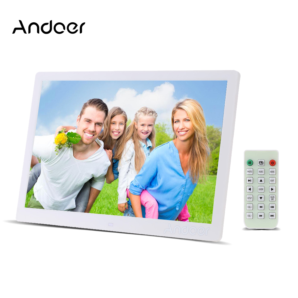 andoer digital photo frame instructions