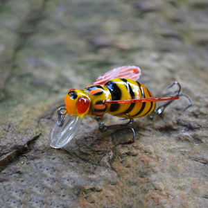 Image 5 - 2016 высокое качество пресноводной Японии насекомые рыболовная приманка на карпа приманка воблер 3D глаза luz PESCA, воблер Leurre Peche 45 мм 6 г