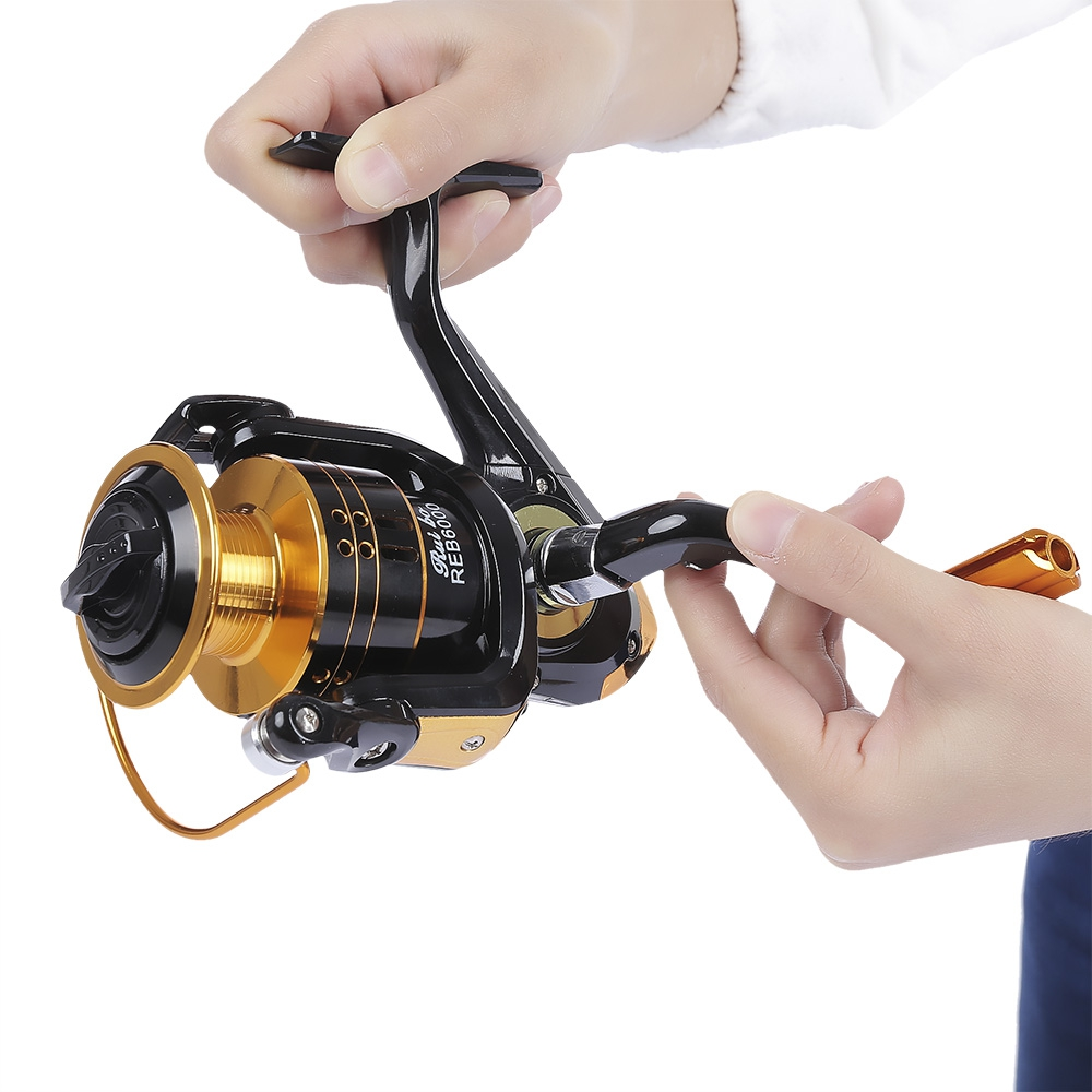 12 Rodamientos de Bolas Carrete de la Pesca de Alta velocidad 5.2: 1 Carrete de