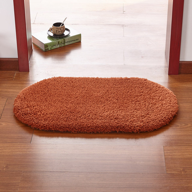 Multi Colour Square Oval Floor Mat Bedroom Rugs,Kitchen Rug Carpets Soft  Living Room Bathroom