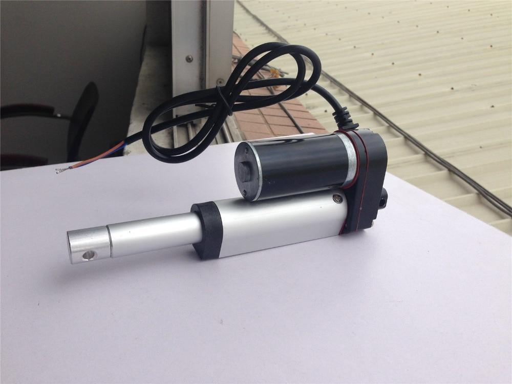"""Dc24v Zware Lineaire Actuator 2 """"inch Beroerte 50mm 330lb 150 Kg Max Lift Voor Automatisering Podium Machines Noch Te Hard Noch Te Zacht"""