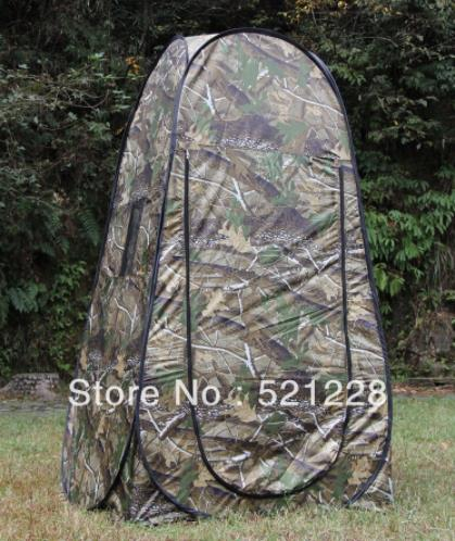 Automatic Pop Up Bath Moving Toilet Shower Photography Fishing Dressing Changing Room Watching Bird Hunting Outdoor