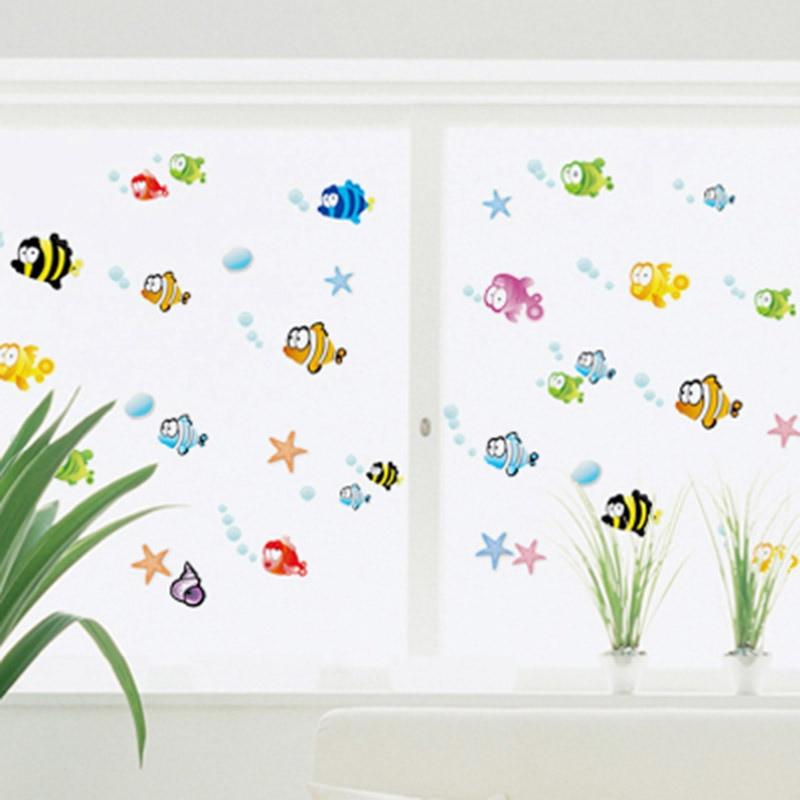 New Flounder Fish Finding Nemo Wall Sticker Cartoon Wall