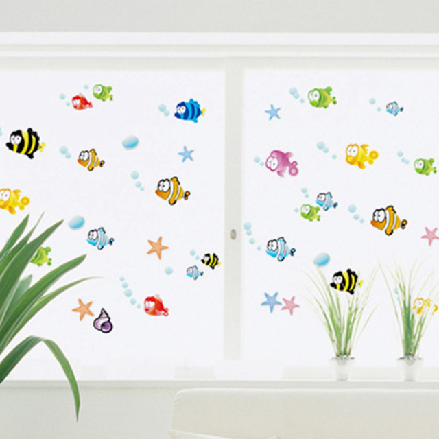 New Flounder Fish Finding Nemo Wall Sticker Cartoon Wall Sticker Decor  Removable Vinyl Nursery Kids Room