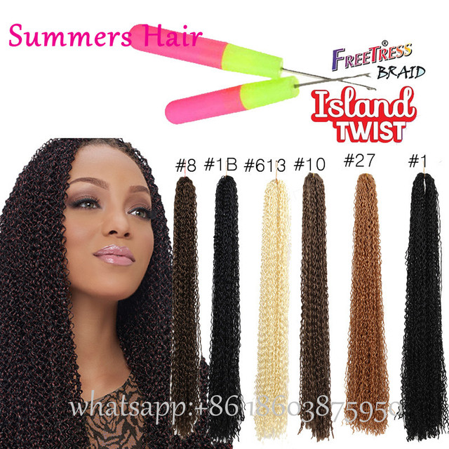 Cheap Synthetic Freetress Curly Hair Weaving Zizi Micro Supreme