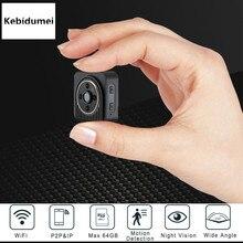 Kebidumei Action Camera Motion Sensor HD 720P WiFi IP Cam Wearable Bike Body Mini Camera with Magnetic Clip Micro Video
